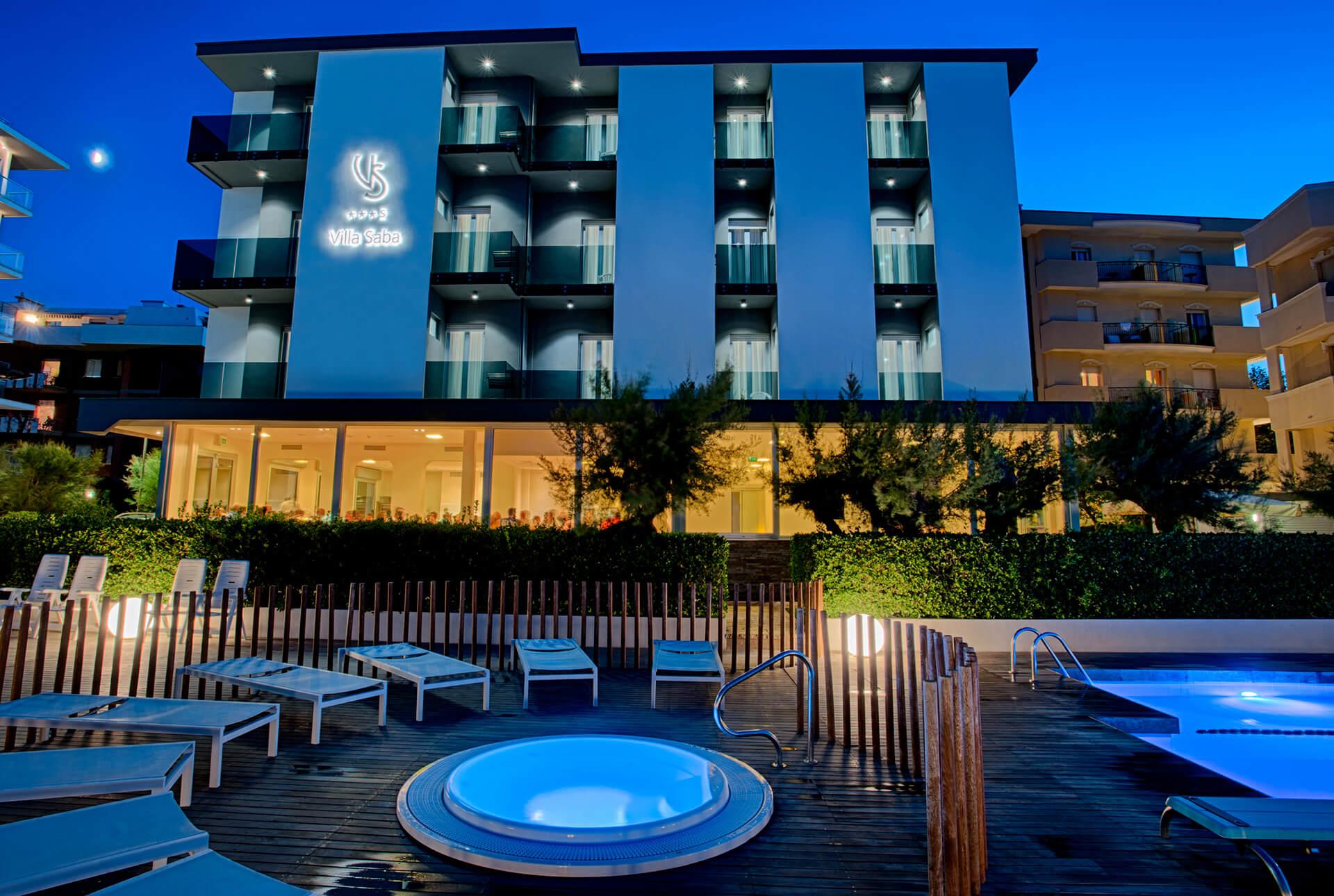 Nuova facciata Hotel Villa Saba